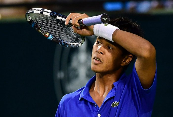 Somdev crashes out of Air Asia Open, Sanam in quarters