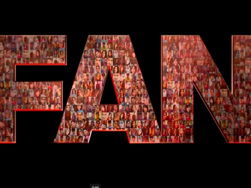 Shah Rukh Khan launches official logo of 'Fan'