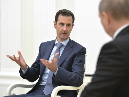 Syria's Assad says ready to hold presidential election with people's blessing