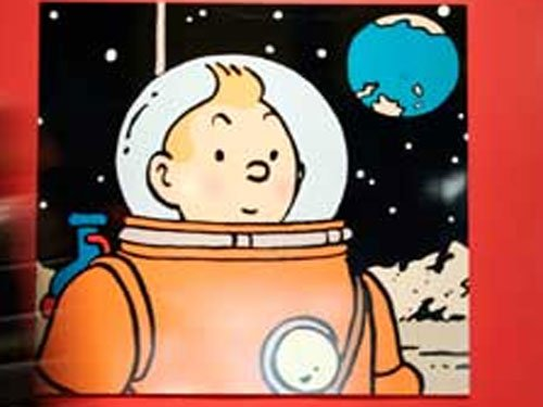 Tintin comic strip fetches record $1.7 million at auction
