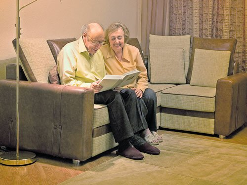 Give the elderly their space