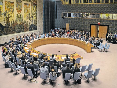 UN under pressure to keep global peace