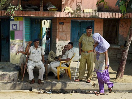 Dalit killings: Forensic probe says fire caused from within