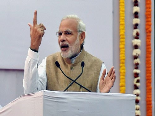 Modi calls for peace, unity