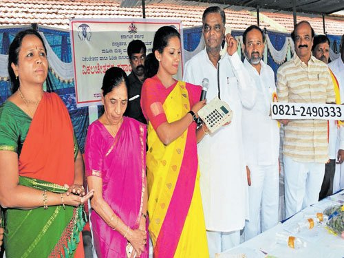 Helpline launched for specially abled persons