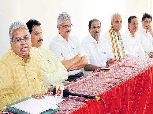 CM's social justice only in speech: Karjol