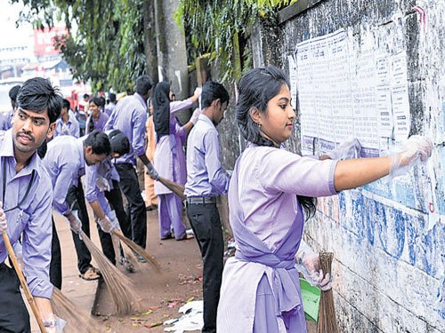 Sanitation drive enters 25th week in Mangaluru