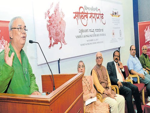 'Open up new avenues to popularise Konkani'