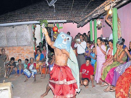 The mock wedding of Deepavali