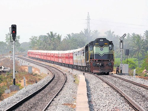 Now book tickets 30 minutes prior to departure of train