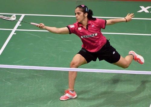 Saina storms into China Open final
