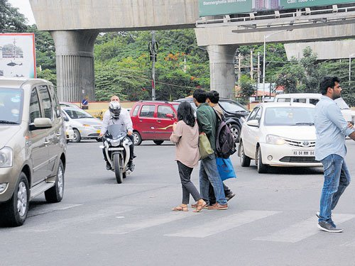18 pc of accident victims in City are pedestrians