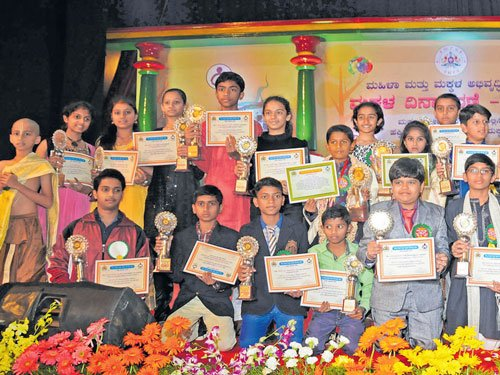 State gives young achievers their due, fetes them on Children's Day