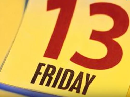 Are you afraid of Friday the 13th?