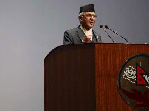 Nepal PM wants India to 'immediately lift undeclared blockade'