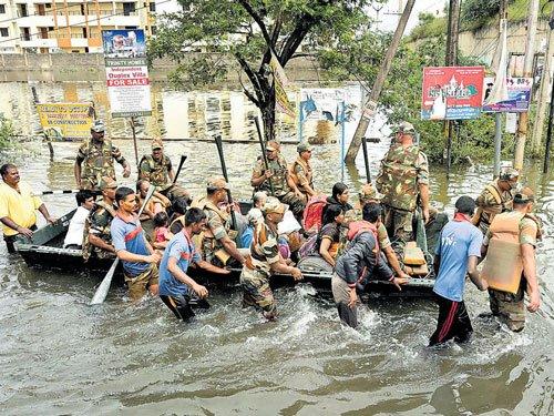 Rain recedes in TN; many still stranded