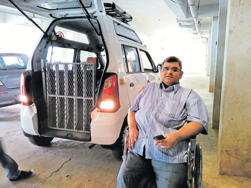 A cab service for the disabled