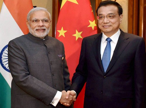 PM meets Chinese counterpart; discusses bilateral ties