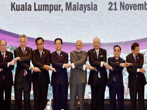 Modi witnesses Kuala Lumpur Declaration signing ceremony