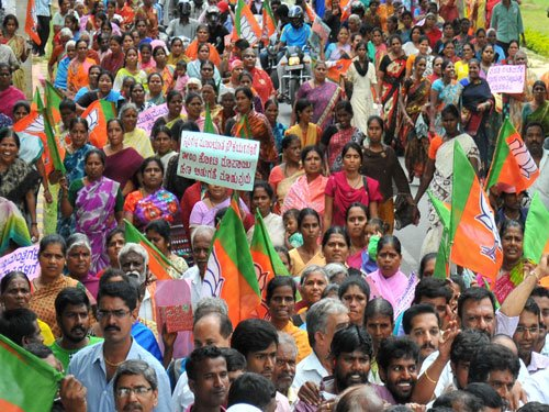 BJP to lay siege to state secretariat tomorrow