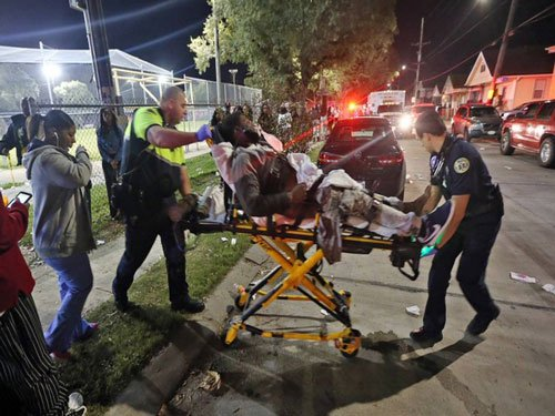 Sixteen people hospitalized after New Orleans shooting - local media