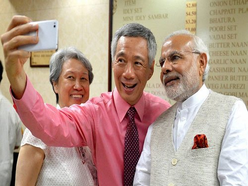 India, Singapore lift ties to strategic partnership, ink 10 pacts