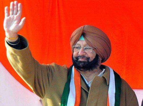 Amarinder new Punjab Cong chief