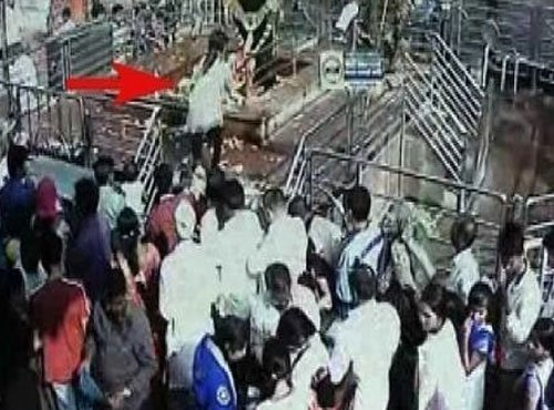 Woman breaks tradition to enter shrine, villagers upset