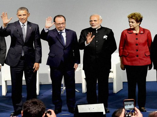 Negotiators from 150 nations began talks to reach climate deal