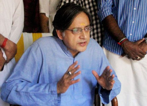 Cow is safer in India than a Muslim: Tharoor