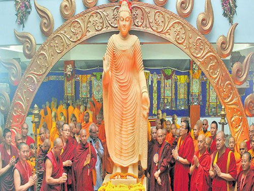 Himalayan art, culture on display  at Buddhist festival