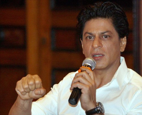 No issue about actors saying what they want: Shah Rukh Khan