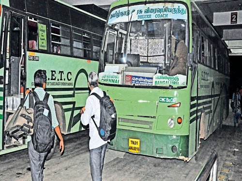 Rains cut off passenger, goods movement to TN