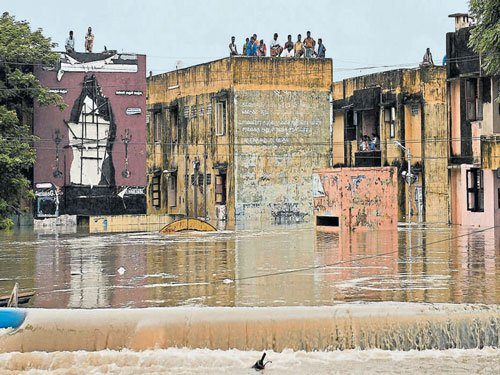 People from State stranded in Chennai
