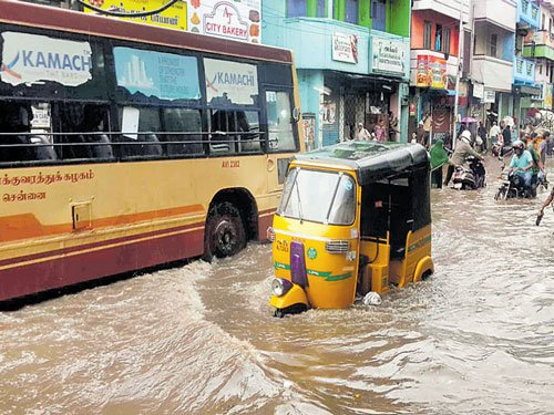 Deluge hits travel, supplies from City