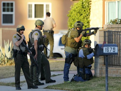 Couple's motive in California rampage a mystery for police, family