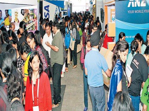 Women engineering students score big at career fair