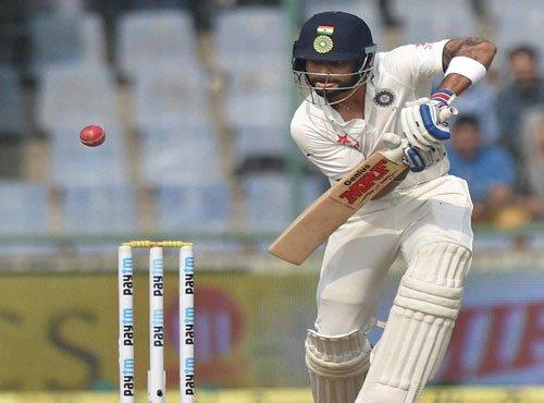 Kohli hits unbeaten 83 as India consolidate position
