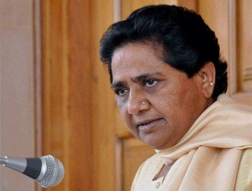 PM, Shah ignoring 'indecorous' remarks against Dalits:Mayawati