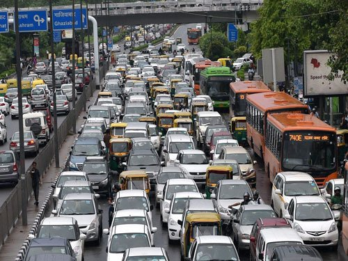 Odd-numbered cars to run on Monday, Wednesday and Friday in Delhi