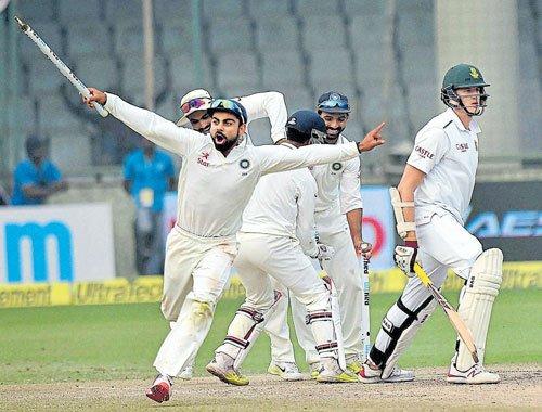 SA resolve melts as India soar high