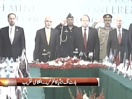 Sharif, Ghani inaugurate 'Heart of Asia' conference