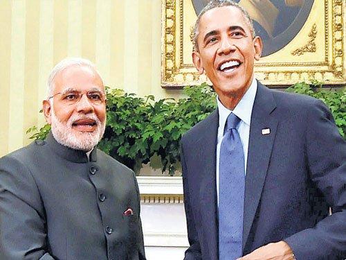Obama calls up Modi over Paris climate agreement