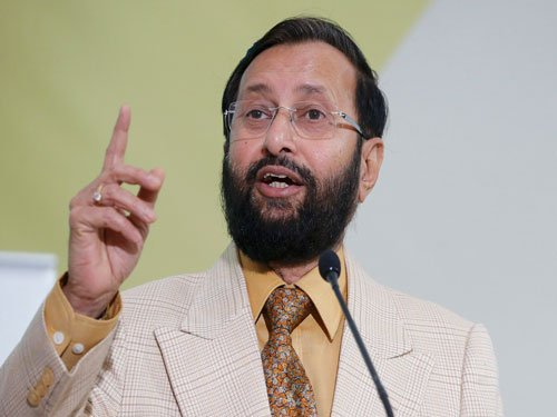 India not fully satisfied with new climate draft: Javadekar