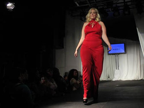 Plus-sized models in ads prompting obesity