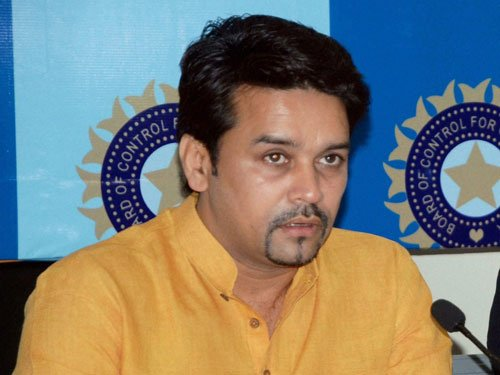 Decision on Indo-Pak series still rests with Govt: Thakur
