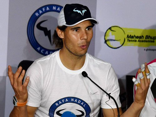 I think I'll be there in IPTL next year too: Nadal
