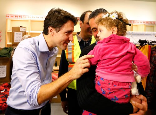 Canada welcomes first Syrian refugees