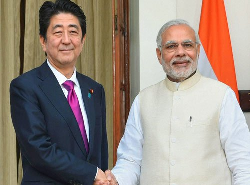 Indo-Japan summit: pacts on bullet train, defence, nuke energy