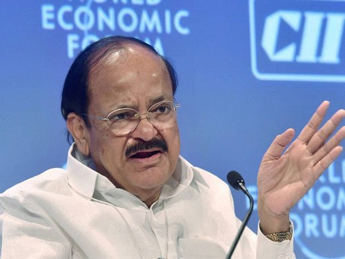 Naidu slams Cong for dragging PMO in National Herald issue